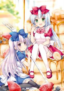 Rating: Safe Score: 42 Tags: airi_(alice_or_alice) alice_or_alice_siscon_nii-san_to_futago_no_imouto rise_(alice_or_alice) tachitsu_teto thighhighs User: yoyokirby