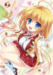 Rating: Questionable Score: 35 Tags: ame_to_yuki hanasaki_work_spring kotobuki_hikari saga_planets seifuku User: kiyoe
