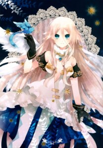 Rating: Safe Score: 36 Tags: cleavage dress ia_(vocaloid) ichinose_kanade no_bra pantyhose vocaloid wings User: WhiteExecutor