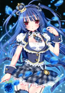 Rating: Safe Score: 58 Tags: kamiya_maneki momoiro_taisen_pairon stockings thighhighs User: crim