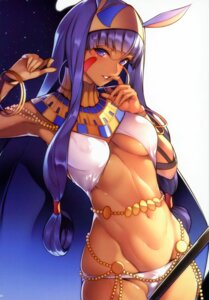 Rating: Questionable Score: 20 Tags: animal_ears bunny_ears cameltoe fate/grand_order nanao nitocris_(fate/grand_order) underboob User: kiyoe