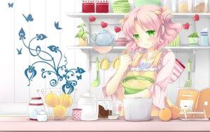 Rating: Safe Score: 32 Tags: cafe_sourire cuffs mizushima_kasumi natsume_eri wallpaper User: Hatsukoi