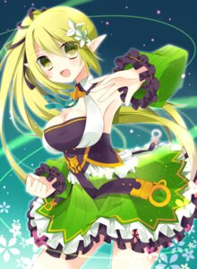 Rating: Safe Score: 30 Tags: cleavage dress elsword hoshiu3 lena_(elsword) pointy_ears User: Mr_GT