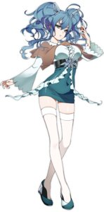 Rating: Safe Score: 45 Tags: dress heels pokemon rakkou thighhighs User: KazukiNanako