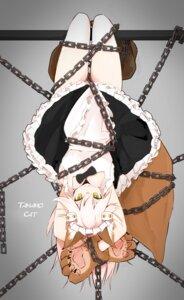 Rating: Safe Score: 38 Tags: animal_ears bondage cleavage fate/grand_order maid tagme tail tamamo_cat User: nphuongsun93