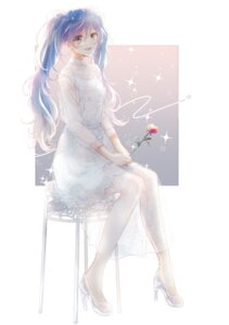 Rating: Safe Score: 12 Tags: dress hatsune_miku heels see_through tagme vocaloid User: Spidey