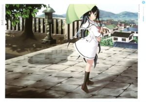 Rating: Questionable Score: 20 Tags: amesarasa chiyokawa_rin kantoku umbrella User: Twinsenzw