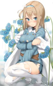 Rating: Safe Score: 7 Tags: breast_hold girls_frontline reinama suomi_kp31_(girls_frontline) thighhighs torn_clothes wet User: BattlequeenYume
