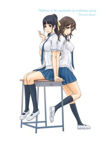 Rating: Questionable Score: 46 Tags: digital_version kisaragi_gunma seifuku User: blooregardo