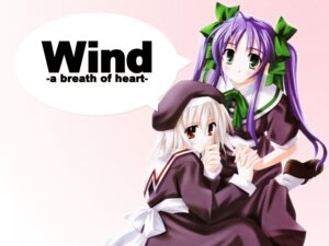 Rating: Safe Score: 4 Tags: narukaze_minamo tsukishiro_hikari wind_a_breath_of_heart User: Radioactive