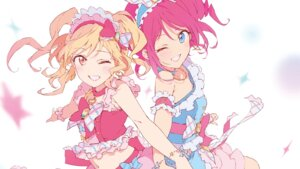 Rating: Safe Score: 14 Tags: aikatsu! aikatsu_stars! nagahara nijino_yume sakuraba_rola User: animeprincess