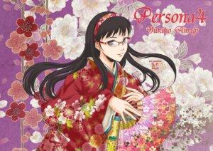 Rating: Safe Score: 21 Tags: amagi_yukiko harima_akimi kimono megane megaten persona persona_4 User: Radioactive
