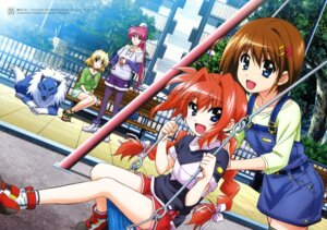 Rating: Safe Score: 19 Tags: hashimoto_takayoshi mahou_shoujo_lyrical_nanoha mahou_shoujo_lyrical_nanoha_a's mahou_shoujo_lyrical_nanoha_the_movie_2nd_a's shamal signum vita yagami_hayate zafira User: drop