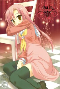 Rating: Safe Score: 24 Tags: hayate_no_gotoku katsura_hinagiku seifuku sesena_yau thighhighs User: Radioactive