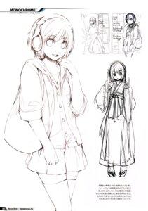 Rating: Safe Score: 8 Tags: fujishima headphones monochrome raving_phantom sketch User: Hatsukoi