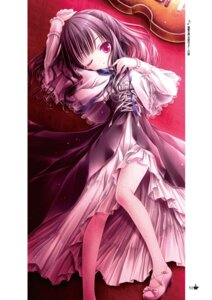 Rating: Safe Score: 25 Tags: dress heels momijidani_nozomi tagme tenshi_no_three_piece! thighhighs tinkle User: kiyoe
