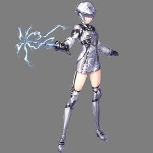 Rating: Questionable Score: 9 Tags: armor heels stockings thighhighs transparent_png unitia weapon User: Radioactive