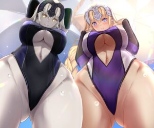 Rating: Questionable Score: 62 Tags: fate/grand_order jeanne_d'arc jeanne_d'arc_(alter)_(fate) jeanne_d'arc_(fate) swimsuits underboob untsue User: Nepcoheart