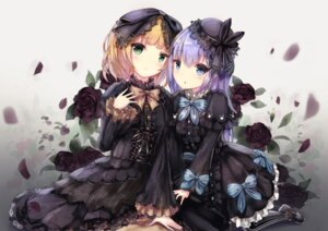 Rating: Safe Score: 33 Tags: apple228 dress gochuumon_wa_usagi_desu_ka? gothic_lolita kafuu_chino kirima_sharo lolita_fashion User: Mr_GT