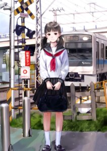 Rating: Safe Score: 25 Tags: kishida_mel maigo_tsuushin seifuku User: androgyne