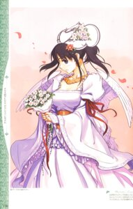 Rating: Safe Score: 10 Tags: atelier atelier_iris atelier_iris:_grand_fantasm dress futaba_jun gust_(company) iris_fortner wedding_dress User: Radioactive