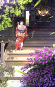 Rating: Safe Score: 43 Tags: kimono neko taka_(tsmix) User: Mr_GT