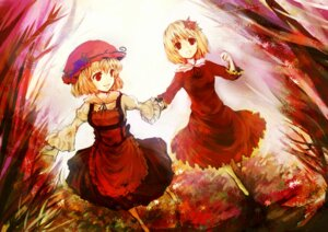 Rating: Safe Score: 21 Tags: aki_minoriko aki_shizuha chagu touhou User: animeprincess