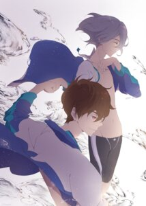 Rating: Safe Score: 5 Tags: free! high_speed! kirishima_natsuya male runano serizawa_nao User: kunkakun