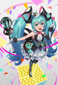 Rating: Safe Score: 13 Tags: hatsune_miku kurosara magical_mirai vocaloid User: Dreista