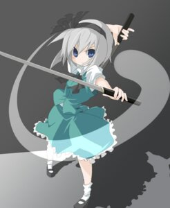 Rating: Safe Score: 10 Tags: konpaku_youmu machily myon touhou User: konstargirl