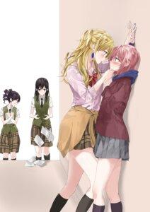 Rating: Safe Score: 33 Tags: aihara_mei aihara_yuzu_(citrus) citrus_(manga) fujisaki_ribbon mizusawa_matsuri momokino_himeko seifuku sweater yuri User: Spidey