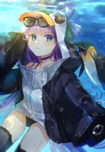 Rating: Safe Score: 13 Tags: fate/grand_order megane meltlilith oyuyu penguin swimsuits thighhighs User: Mr_GT
