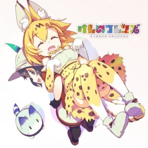 Rating: Safe Score: 21 Tags: animal_ears kaban_(kemono_friends) kemono_friends pomon_illust serval tail thighhighs User: nphuongsun93