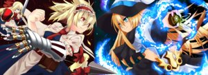 Rating: Safe Score: 10 Tags: alice_margatroid kirisame_marisa kotomuke_fuurin shanghai sword touhou User: charunetra