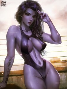 Rating: Questionable Score: 11 Tags: areola cameltoe erect_nipples logan_cure overwatch swimsuits widowmaker User: lushp