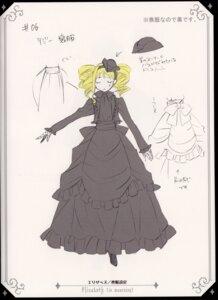 Rating: Safe Score: 3 Tags: character_design dress elizabeth_middleford kuroshitsuji User: charunetra