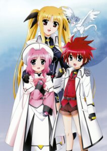 Rating: Safe Score: 8 Tags: caro_ru_lushe erio_mondial fate_testarossa friedrich mahou_shoujo_lyrical_nanoha mahou_shoujo_lyrical_nanoha_strikers okuda_yasuhiro User: syaoran-kun