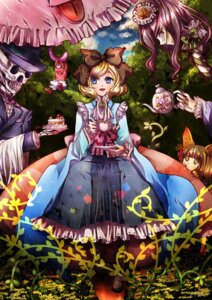 Rating: Safe Score: 4 Tags: alice alice_in_wonderland sohou_sakura User: charunetra