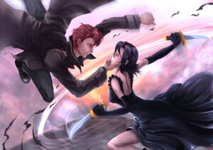 Rating: Safe Score: 13 Tags: baccano! chane_laforet claire_stanfield dress minus_ion weapon User: Zenex
