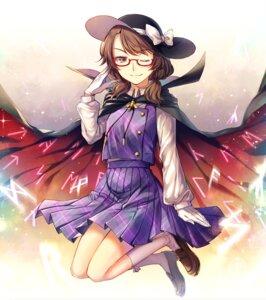 Rating: Safe Score: 11 Tags: kaede_(mmkeyy) megane touhou usami_sumireko User: Mr_GT