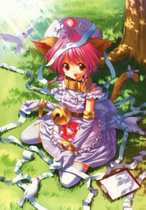 Rating: Safe Score: 9 Tags: animal_ears dress nekomimi tail thighhighs ueda_ryou User: Radioactive