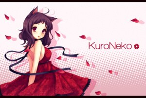 Rating: Safe Score: 17 Tags: animal_ears dress kurone_kuroneko nekomimi User: itsu-chan