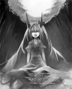 Rating: Safe Score: 5 Tags: ex_keine horns kamishirasawa_keine monochrome touhou ukyo_rst User: fireattack