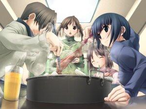 Rating: Safe Score: 9 Tags: asaba_nonoka game_cg hashimoto_takashi ichinose_mio kasuga_yoshino white_breath User: boon