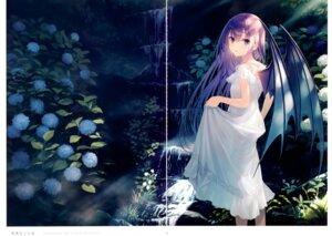 Rating: Safe Score: 14 Tags: dress gap summer_dress wings yashiro_seika User: Arsy