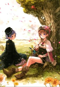 Rating: Safe Score: 43 Tags: atelier atelier_rorona dress elf hom kishida_mel pointy_ears rorolina_frixell User: Radioactive