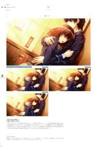 Rating: Questionable Score: 11 Tags: misaki_kurehito sasaki_kaori ushinawareta_mirai_wo_motomete User: Twinsenzw
