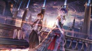 Rating: Safe Score: 69 Tags: chuunibyou_demo_koi_ga_shitai! dress gothic_lolita lolita_fashion red_flowers sword takanashi_rikka thighhighs togashi_yuuta umbrella User: Mr_GT