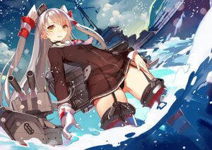 Rating: Questionable Score: 53 Tags: amatsukaze_(kancolle) kantai_collection pantsu rensouhou-chan samail see_through stockings thighhighs User: tbchyu001