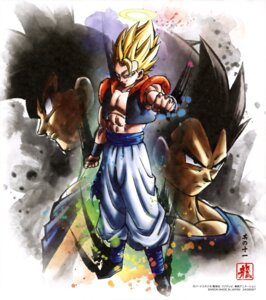 Rating: Safe Score: 6 Tags: dragon_ball gogeta son_goku vegeta User: drop